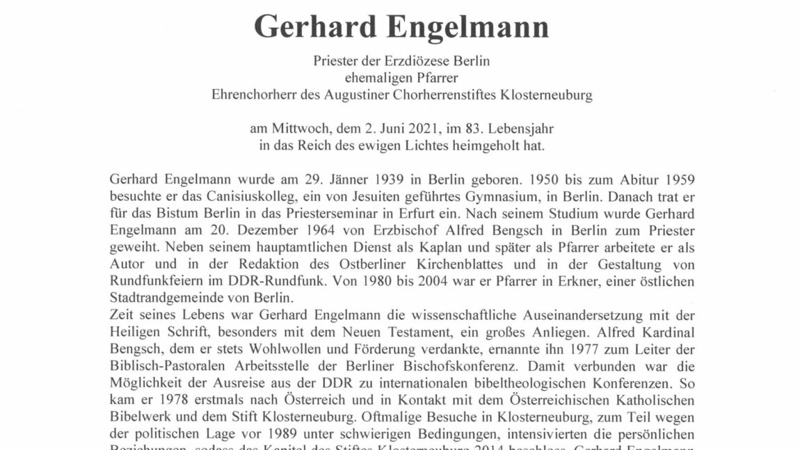 Gerhard Engelmann